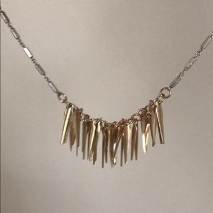 Urban Outfitters Jewelry - Urban Outfitters silver gold trendy necklace- NWOT